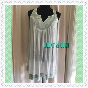 NWT TUNIC COVERUP💋💋💋